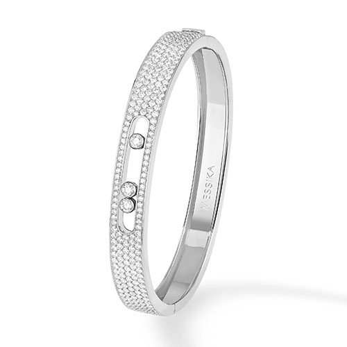 Messika Bracelet > Bangle Move Joaillerie Pavé <