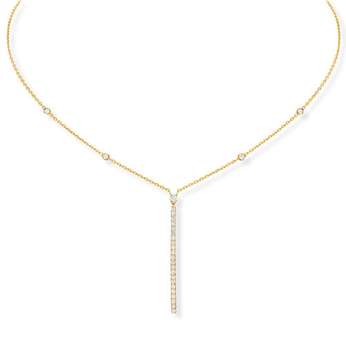 Messika Necklace > Gatsby Barrette Verticale <