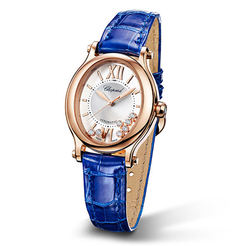 Chopard Damenuhr Happy Sport Oval