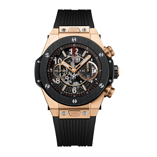 HUBLOT Herrenuhr Big Bang Unico King Gold Ceramic