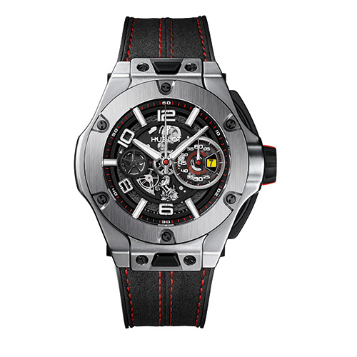HUBLOT Herrenuhr Big Bang Ferrrari Titanium